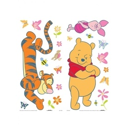 Disney - Nalle Puh 21-Pack Wallies Wallstickers