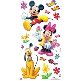 Disney - Musse Wallies Wallstickers Glow