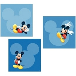 Disney - Musse Pigg Wallies 3-Pack