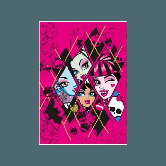 Disney - Monster High Barnmatta - Dödskallar