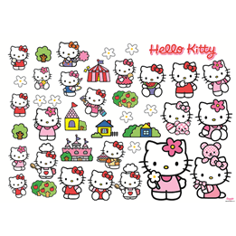 Disney - Hello Kitty Wallies 38-Pack