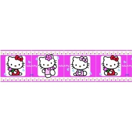 Disney - Hello Kitty Bård 15 Cm Hög - Rosa
