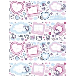 Disney - Hello Kitty 67-Pack Foto Wallies Wall Stickers