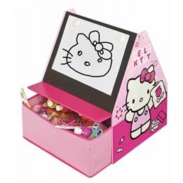Disney - Hello Kitty 3 I 1 Bokhylla, Förvaring & Skrivtavla