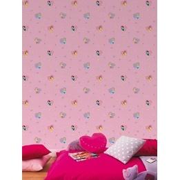 Disney - Disney Prinsessor Tapet - Rosa