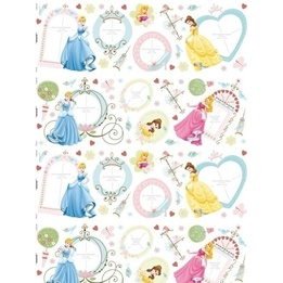 Disney - Disney Prinsessor Foto Wallies Wall Stickers 50-Pack