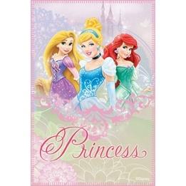 Disney - Disney Prinsessor Fleecepläd/Fleecefilt