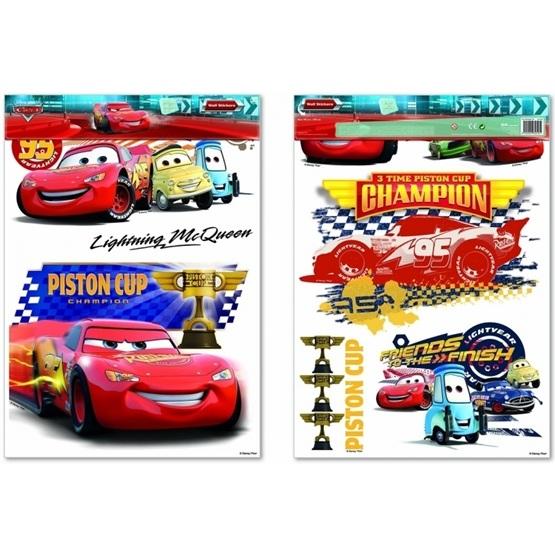 Disney - Cars/Bilar Xl Wall Stickers 48X68 Cm
