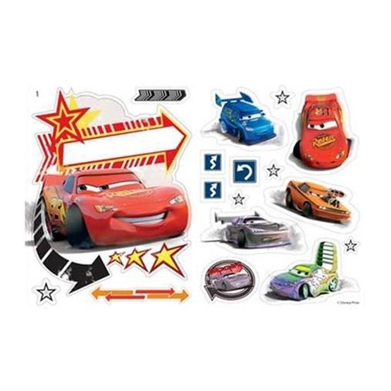 Disney - Cars/Bilar Wallies Wall Stickers 19-Pack