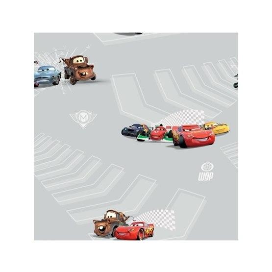 Disney - Cars/Bilar Tapeter - Grå