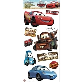 Disney - Cars/Bilar Självlysande Wallies Wall Stickers