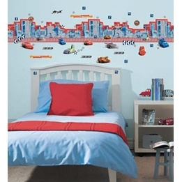 Disney - Cars/Bilar Room Make Over Kit Bård Wall Sticker
