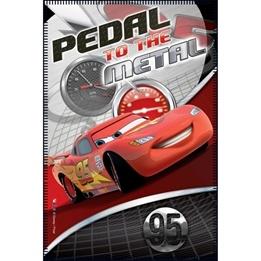 "Disney - Cars/Bilar Fleecefilt/Fleecepläd ""Pedal-To-The-Metal"""