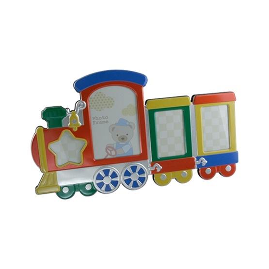 Dacapo Silver - Fotoram Tåg Med Vagn