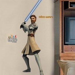 Disney - Star Wars Wallies Wall Stickers Obi Wan