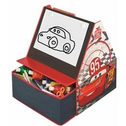 Disney - Cars / Bilar 3 I 1 Bokhylla, Förvaring & Skrivtavla