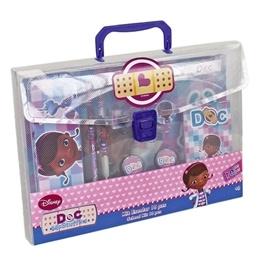 Disney - Doktor Mcstuffins Rit- Och Målarset 10-Pack I Väska