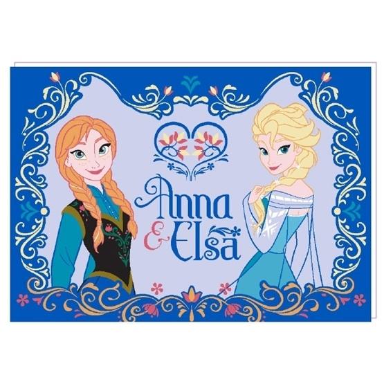 Disney - Frozen / Frost Anna & Elsa Barnmatta