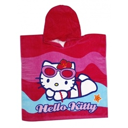 Disney - Hello Kitty Badponcho Cerise