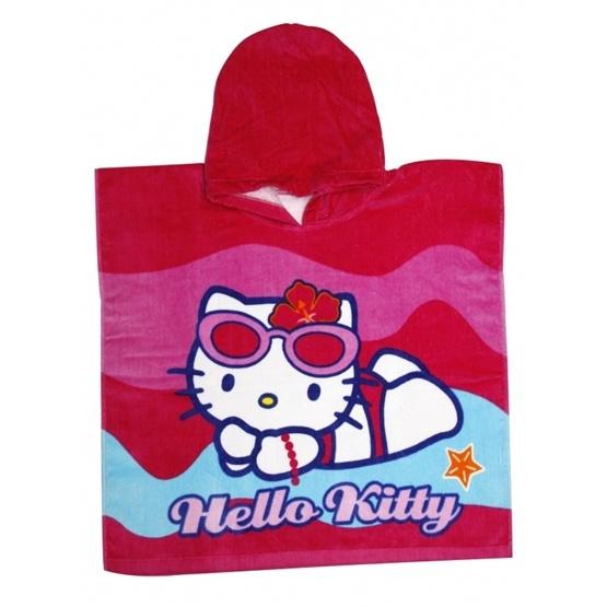Disney - Hello Kitty Badponcho Cerise