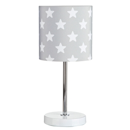 Kids Concept - Bordslampa Star Grå/Vit