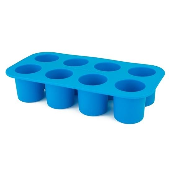 Barnmatsburken - Portionsform Blå