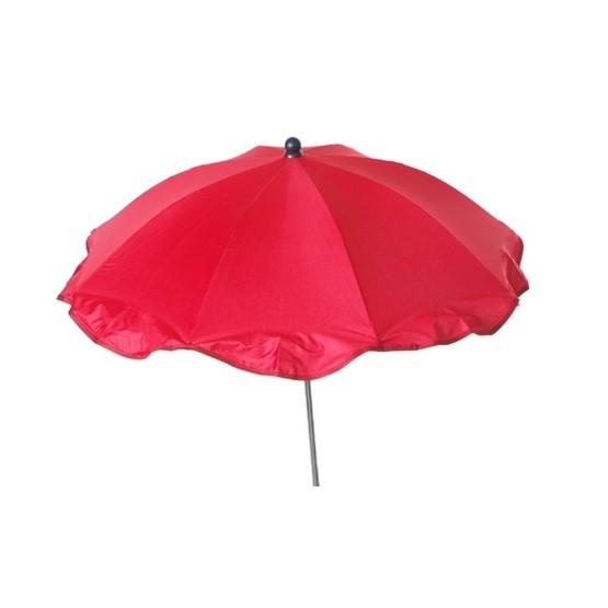 2ME - Parasoll Med Markfäste - Röd