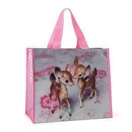 Catseye - Deer On Rose Shopper