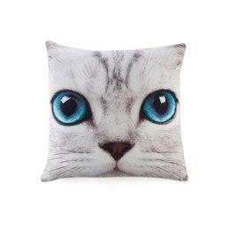 Catseye - Silver Kitty Couchion