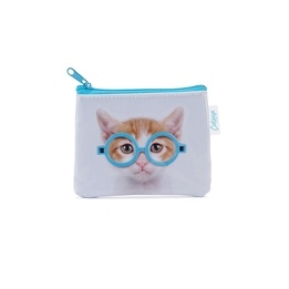 Catseye - Glasses Cat Coin Purse