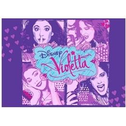 Disney - Violetta Fyra Bilder Matta 133X95 Cm