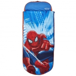 Disney - Spiderman Luftmadrass Med Sovsäck