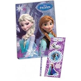 Disney - Frozen / Frost Dagbok Med Penna Och Klistermärken