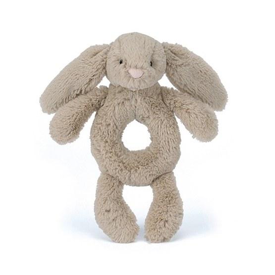 Jellycat - Bashful Bunny Grabber Beige