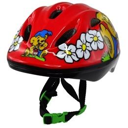 Tildas - Bamse Cykelhjälm Röd