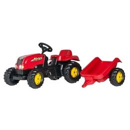 Rolly Toys - Rollykid Traktor med släp