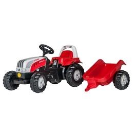 Rolly Toys - Rollykid traktor Steyr 6190 Cvt med släp
