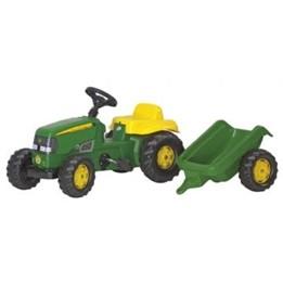 Rolly Toys - John Deere traktor med släp