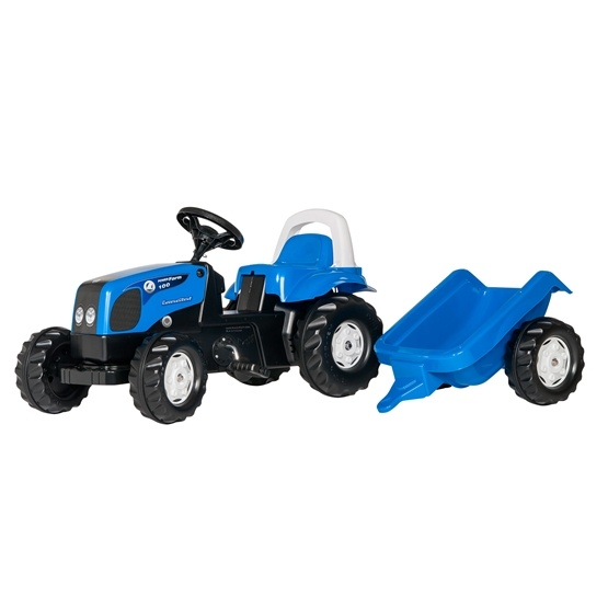 Rolly Toys - Rollykid Landini Power Farm 100 - Rollykid Trailer