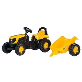Rolly Toys - JCB traktor med släp