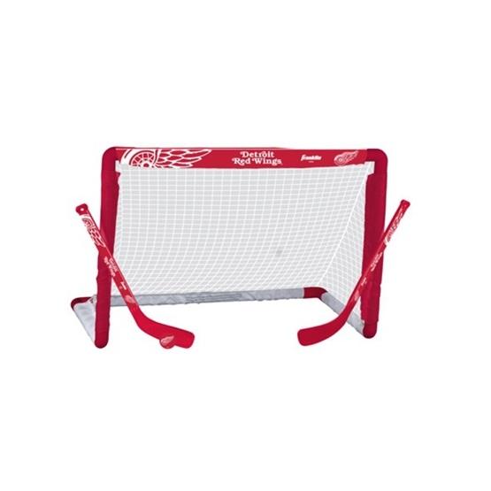 Franklin - Minihockeyset - Bur, 2 Klubbor Och Boll - Detroit Redwings