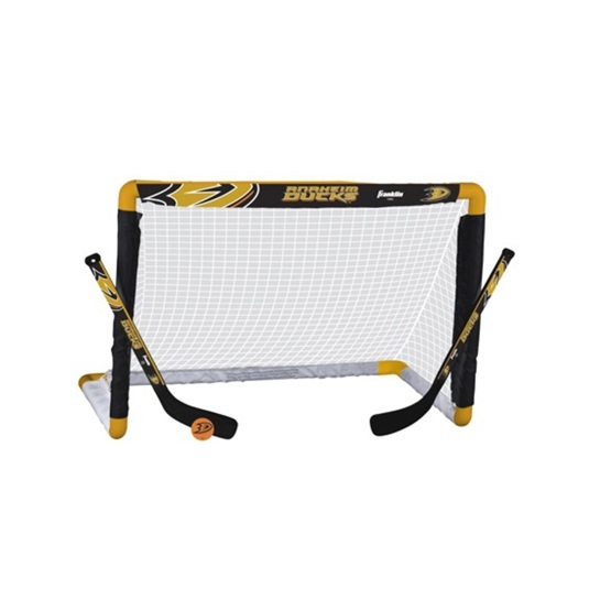 Franklin - Minihockeyset - Bur, 2 Klubbor Och Boll - Anaheim