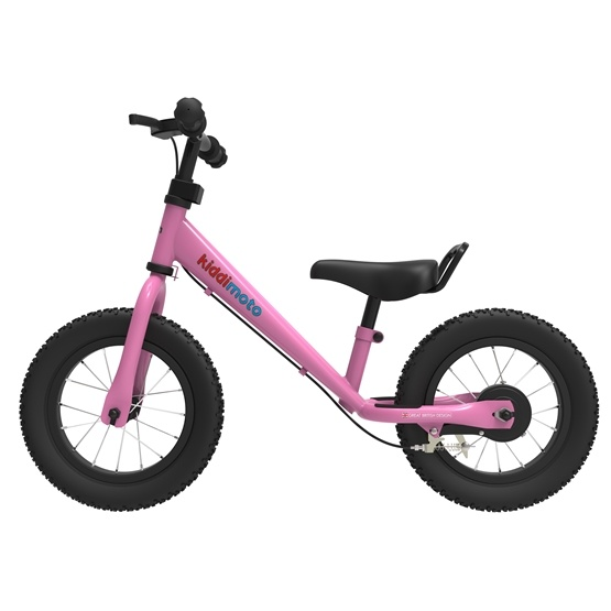 Kiddimoto - Balanscykel Super Junior Max Rosa