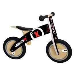 Kiddimoto - Balanscykel Limited Edition Racer Jorge Lorenzo Kurve