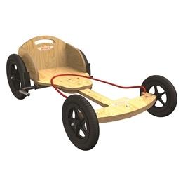 Kiddimoto - Lådbil - Natural Boxkart