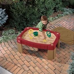 Step2 - Lekbord med sand