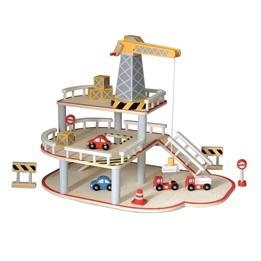 Egmont Toys - Bilgarage I Trä