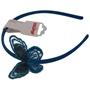 Lollipop - Diadem med paljettfjäril - Blå