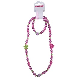 Lollipop - Halsband & armbands set - Plast
