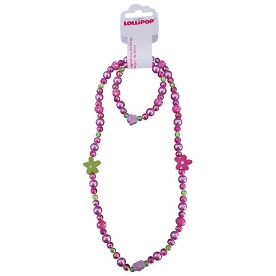 Lollipop - Halsband & armbands set - Plast